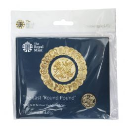 2016 £1 One Pound Brilliant Uncirculated pack Last Round pound